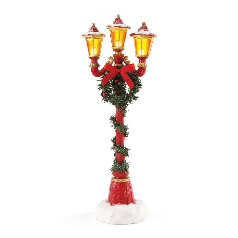 Department 56 Possible Dreams Santa's Lamp Post 4049275 Accessory